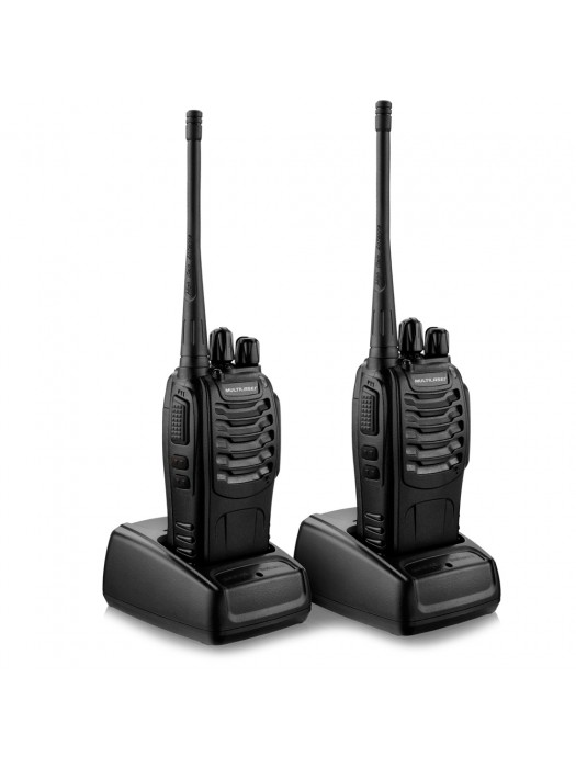 Multilaser Walkie Talkie Bivolt Par TV003