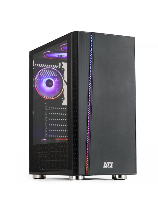PC GAMER CLASSEAINFO RYZEN 5 2600, PL MÃE B350, 16GB DDR4, SSD 120GB, HD 500GB, RADEON 5500XT, 700W, WINDOWS 10