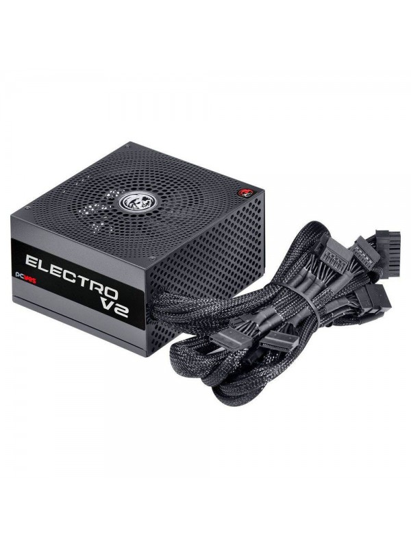 Fonte ATX 500W Real ELECTRO V2 Series Pcyes 80 Plus