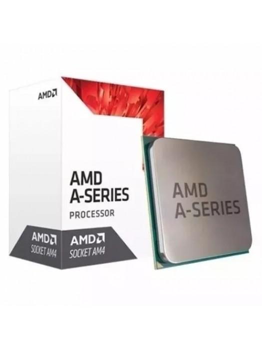 Kit Upgrade Classeainfo AMD A10 9700 Quad Core 3.0 AM4 + Placa Mãe A320 Pro + 4gb DDR4 2400mhz + Cooler do processador, HDMI, USB 3.0, Gráficos da série Radeon R7