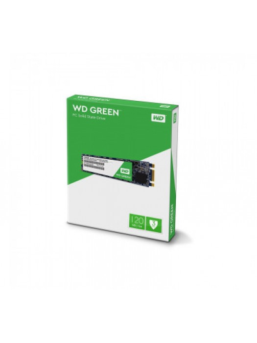 SSD M2 2280 WESTER DIGITAL GREEN 120GB SATA 3 3D WDS120G2G0B